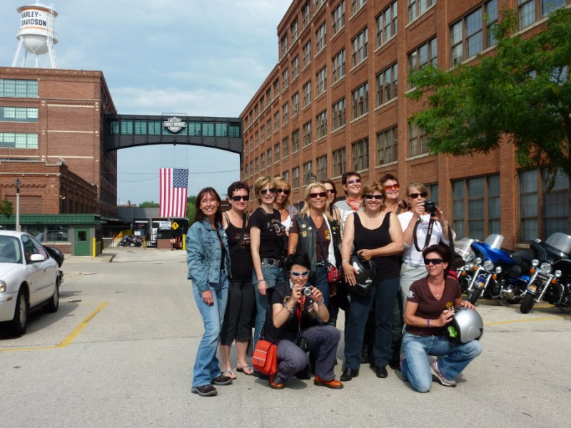 Les Ladies aux USA en 2010